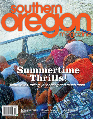 Southern Oregon Magazine Summer 2014 cover photo featuring Lithia Springs Resort