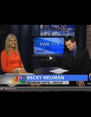 Becky Neuman on NBC 5 on 5