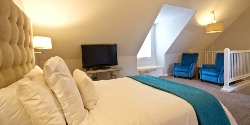 """One of our most """"tucked-away"""" rooms. This beautiful King room gains entrance through our secluded back Garden Courtyard.View Details"""